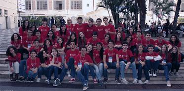 Professores e alunos do Liceu no VII Congresso ICLOC